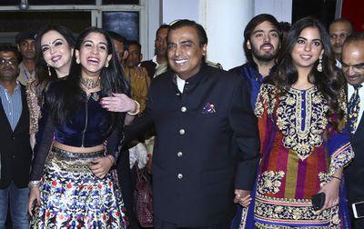 Mukesh Ambani (13th richest) $96.75 billion