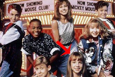 Member of the Mickey Mouse club with pop rival Christina Aguilera and future ex Justin Timberlake.