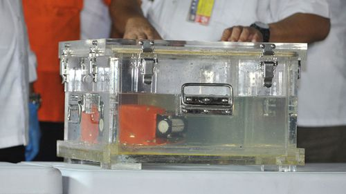 The ill-fated flight's black box has been recovered but the cockpit voice recorder has not been found.