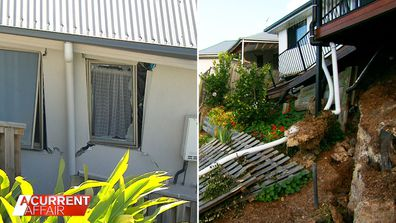 Homeowners cries unanswered as their homes slide downhill