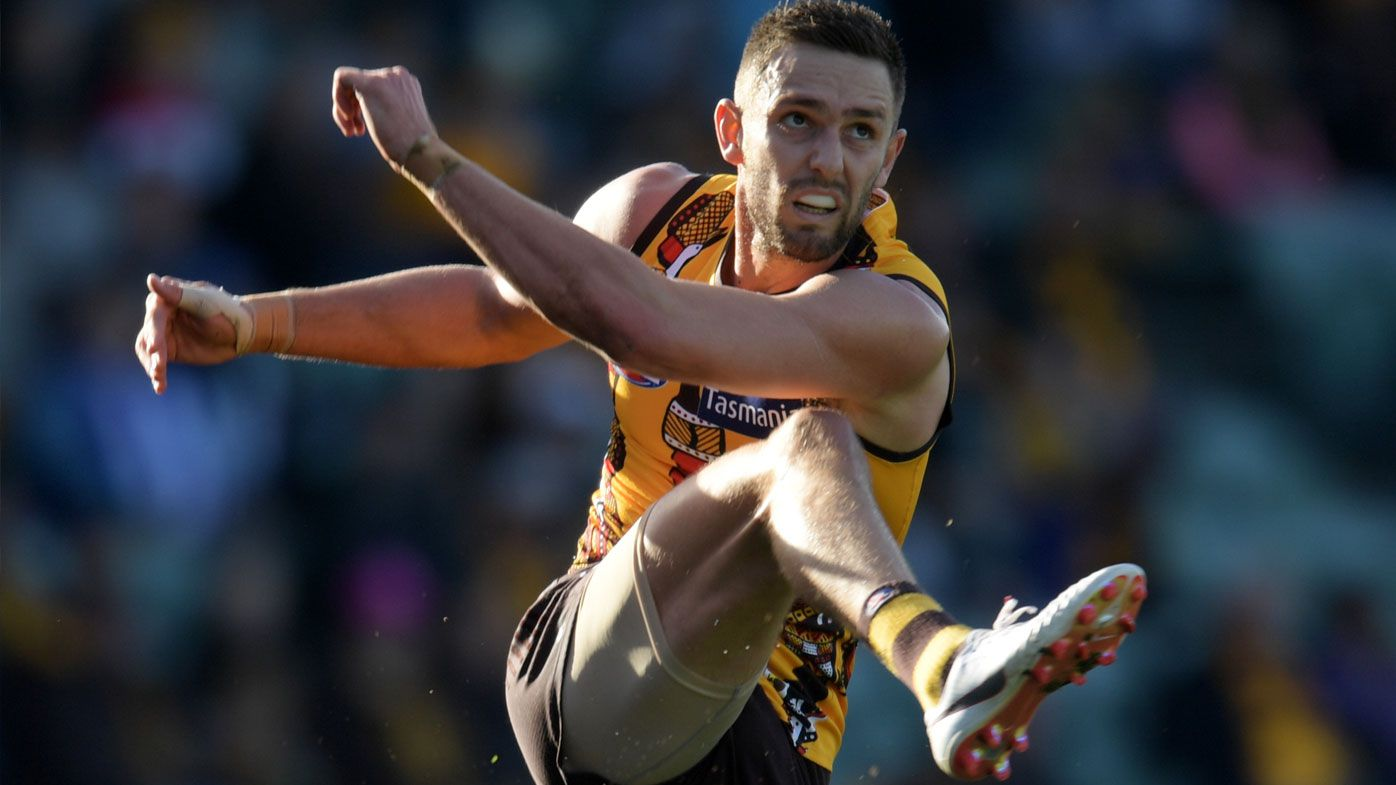 AFL: Hawthorn Hawks sign up Jack Gunston to 2022