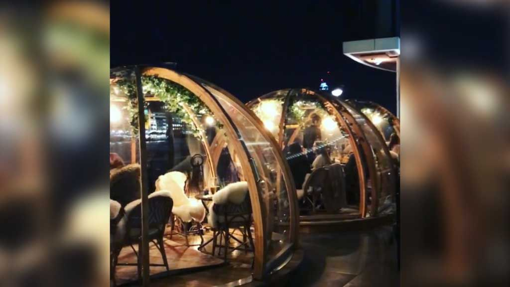 London's Igloo bars are back