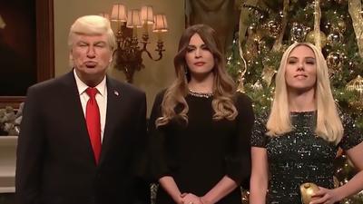 SNL: Alec Baldwin's Donald Trump declares war on Christmas is over