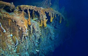Titanic sub dive shows wreck of legendary liner is being lost to the sea