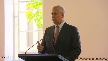 Prince Andrew opens Adelaide hospital innovation hub