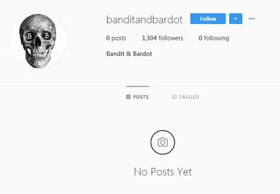 Cody Simpson, Miley Cyrus, band, Instagram, page, Bandit and Bardot