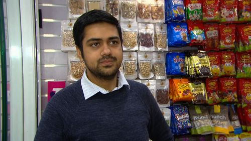 Co-worker Mohammad Farooqi has told 9NEWS he hopes the worker doesn't lose his job (9NEWS)