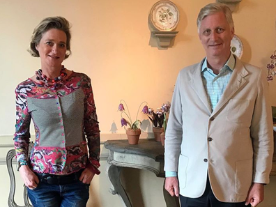 Delphine Boël meets the King of Belgium after proving paternity