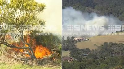 Bushfires threaten NSW homes