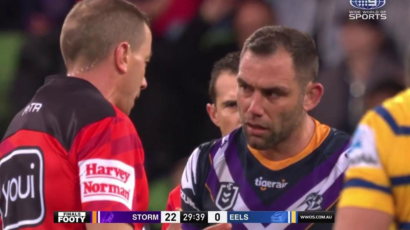 Cameron Smith sin binned for slapping: 'What a disgrace'