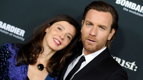 Ewan McGregor and Eve Mavrakis arrive at the premiere of The Weinstein Company's 'August: Osage County' in 2013. (Image: PA)
