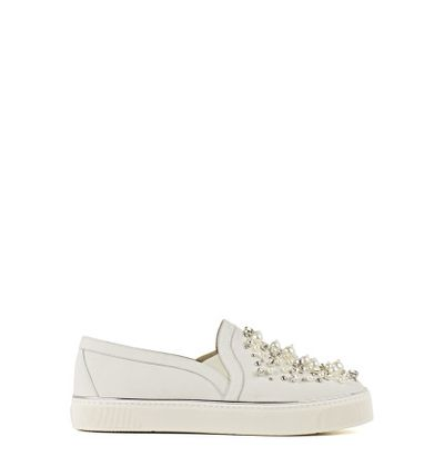 "<p>Feet first</p> <p>Stuart Weitzman, pearl embellished sneaker $880 at <strong><a href=""http://shop.davidjones.com.au/djs/ProductDisplay?catalogId=10051&productId=12755011&langId=-1&storeId=10051"" target=""_blank"">David Jones</a></strong><br> </p>"