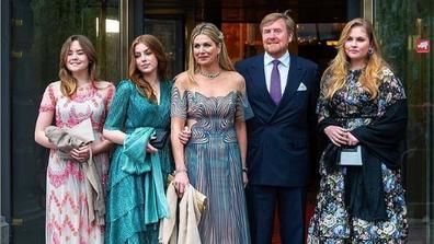 Dutch Royal Family step out