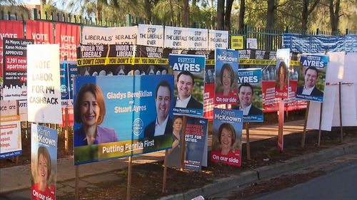 NSW election Gladys Berejiklian Liberal coalition Labor Penrith polling open
