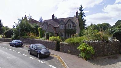 J.K. Rowling childhood home in Gloucestershire.