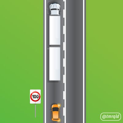 Can the driver exceed the speed limit to pass safely?