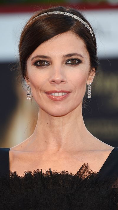 Maribel Verdu at a premiere for <em>Rabin, The Last Day</em>.