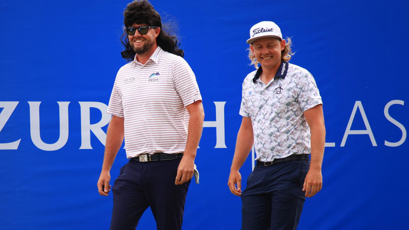 Aussies Marc Leishman and Cameron Smith win Zurich Classic in a playoff