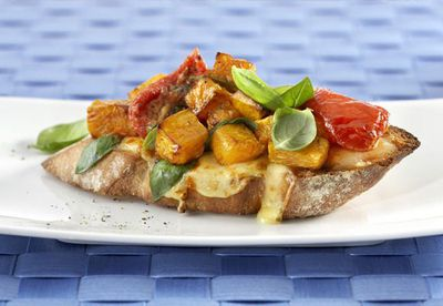 "<a href=""http://kitchen.nine.com.au/2016/06/06/15/43/colby-roast-pumpkin-bruschetta"" target=""_top"">Colby roast pumpkin bruschetta</a><br> <br> <a href=""http://kitchen.nine.com.au/2016/06/06/21/22/outstanding-open-sandwich-combos"" target=""_top"">More open sandwich recipes</a>"
