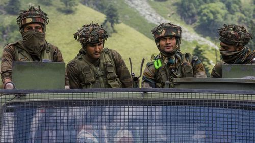 India has moved extra troops to the disputed Ladakh border region