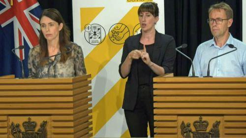 Jacinda Ardern press conference COVID-19 lockdown in Auckland