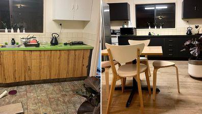 MAFS Samantha Harvey kitchen renovation