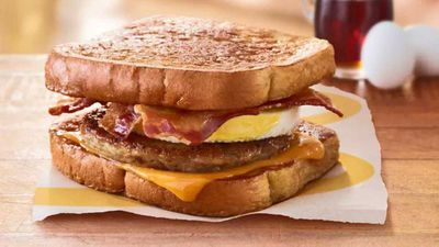 McDonald's tests French Toast McGriddle