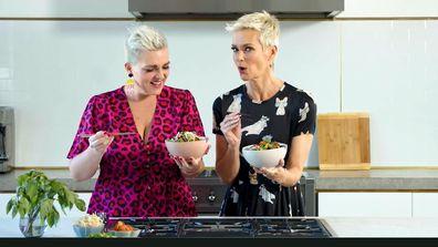 Jane de Graaff tries Jess Rowe's stir-fry