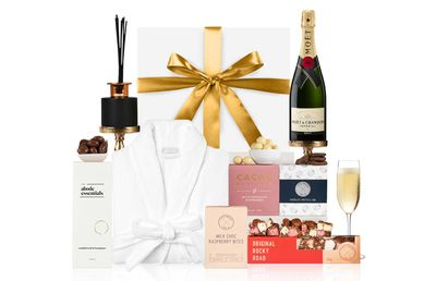 Hampers with Bite Mother's Day Pamper with Moët, $220