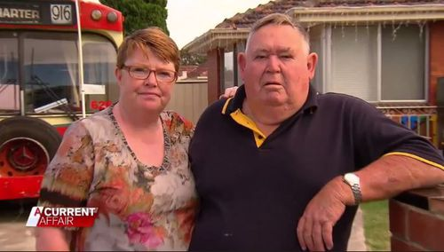Pensioners Linda and Cole told ACA they might have to live in their bus. (9NEWS)