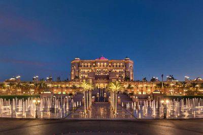 <strong>Emirates Palace, Abu Dhabi</strong>
