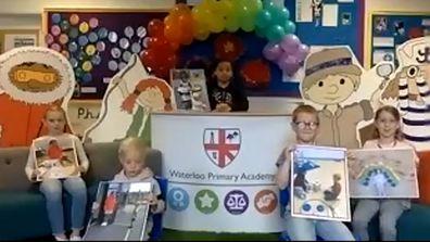 Kate Middleton, Duchess of Cambridge surprises school children at Oak National Academy Assembly