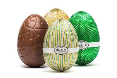 Haigh's 600g chocolate egg: 527 minutes/8.7 hours walking