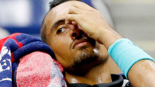 Kyrgios said he understood there could be lingering animosity among fans as he tries to move on.