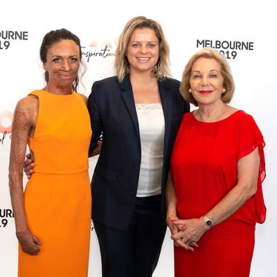 Turia Pitt, Kim Clijsters and Ita Buttrose