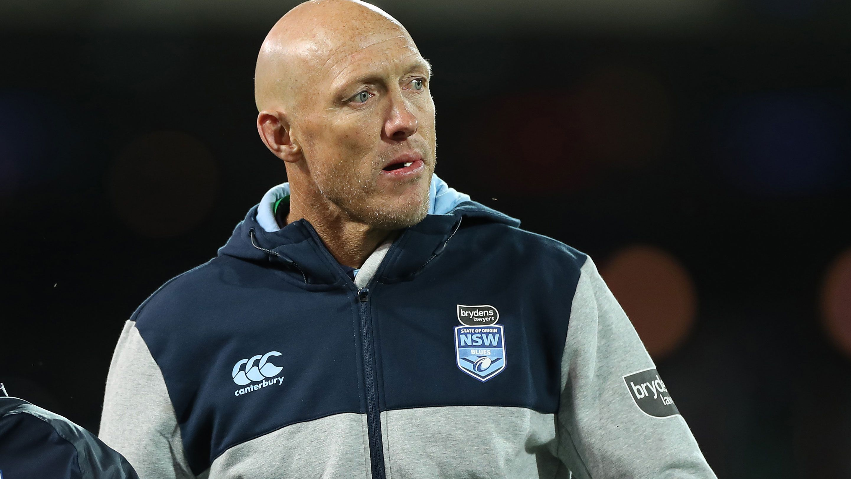 Craig Fitzgibbon as part of the NSW coaching staff.