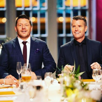 My Kitchen Rules, chef Pete Evans and Manu Feildel