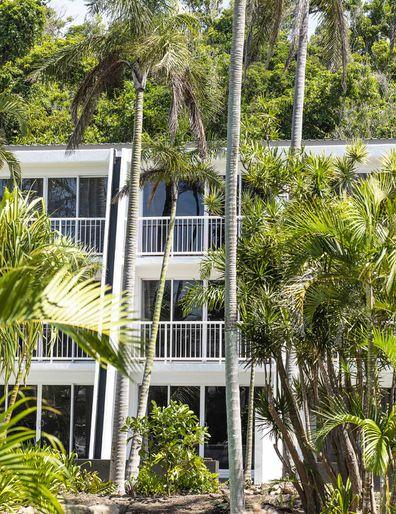 Daydream Island Resort's pool-facing accommodations.