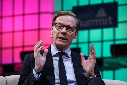 Cambridge Analytica CEO Alexander Nix has been caught in the crosshairs of the scandal. (AAP)