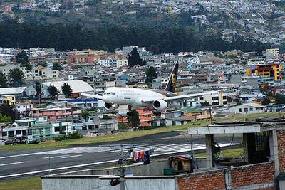 <strong>Ecuador: Quito Airport</strong>