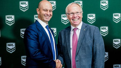 Former Queensland Premier and chairman of the Australian Rugby League Commission, Peter Beattie, told 9NEWS the Queensland government is already interested in hosting the event (AAP).
