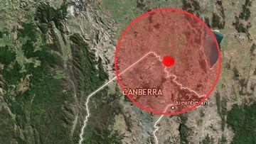 Canberra earthquake