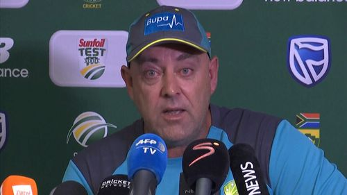Coach Darren Lehmann put a line under the week by handing in his resignation.