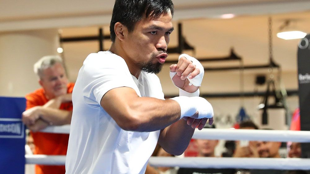 Manny Pacquiao yet to 'dream' about result of bout against Australian Jeff Horn