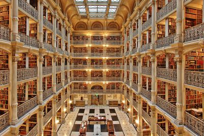 <strong>George Peabody Library, Baltimore</strong>