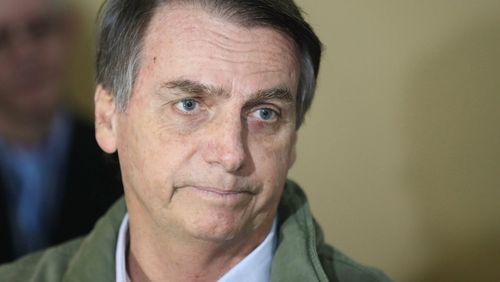 Far-right Brazilian politician Jair Bolsonaro has been elected the country's president.