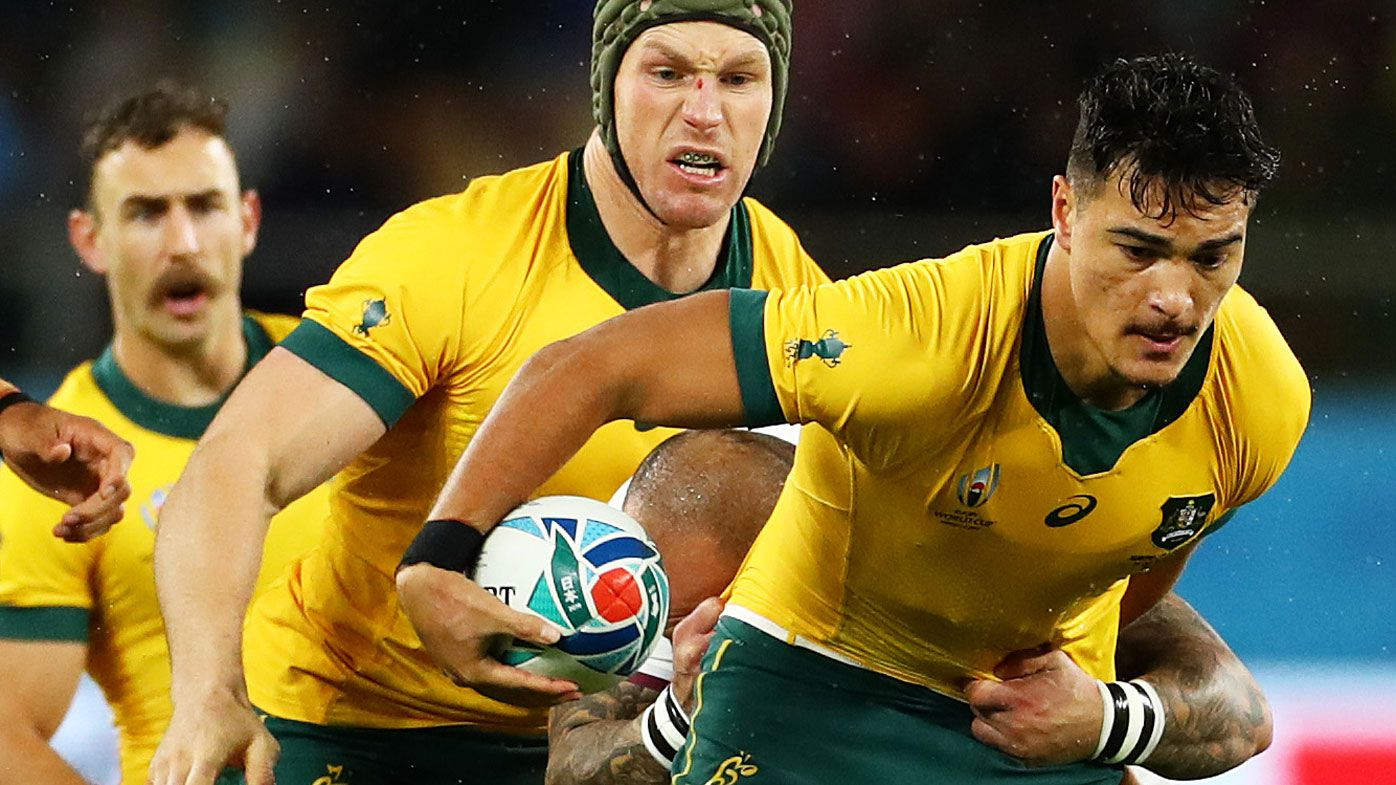 Australia's huge Jordan Petaia call for Rugby World Cup QF against England