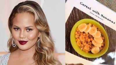 Chrissy Teigen's creates menu to get daughter to eat
