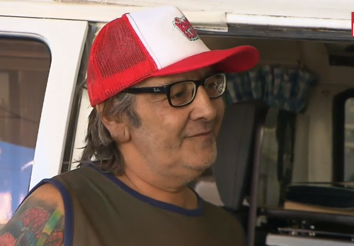 Alf Lunghi says his life has been transformed since the Kombi came to his area. (9NEWS)