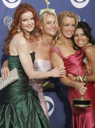 Marcia Cross, Nicollette Sheridan, Felicity Huffman and Eva Longoria